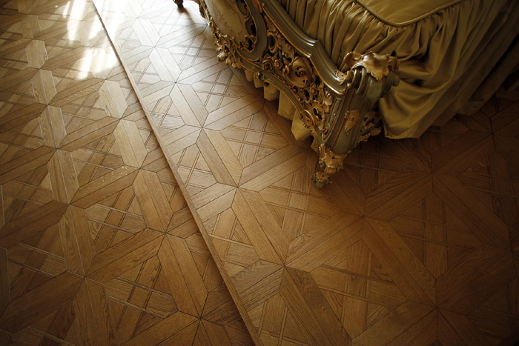 Patterned floors