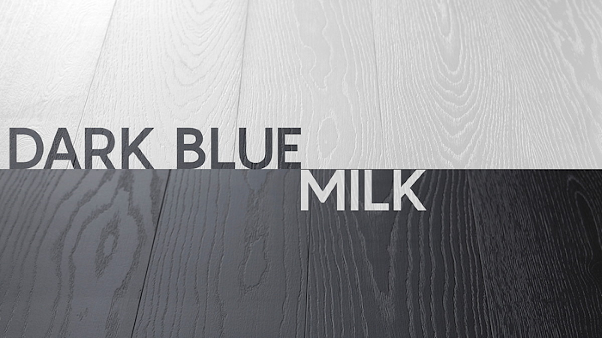 Milk & Dark Blue