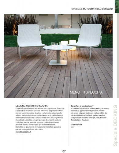 Special issue outdoor I Love Parquet