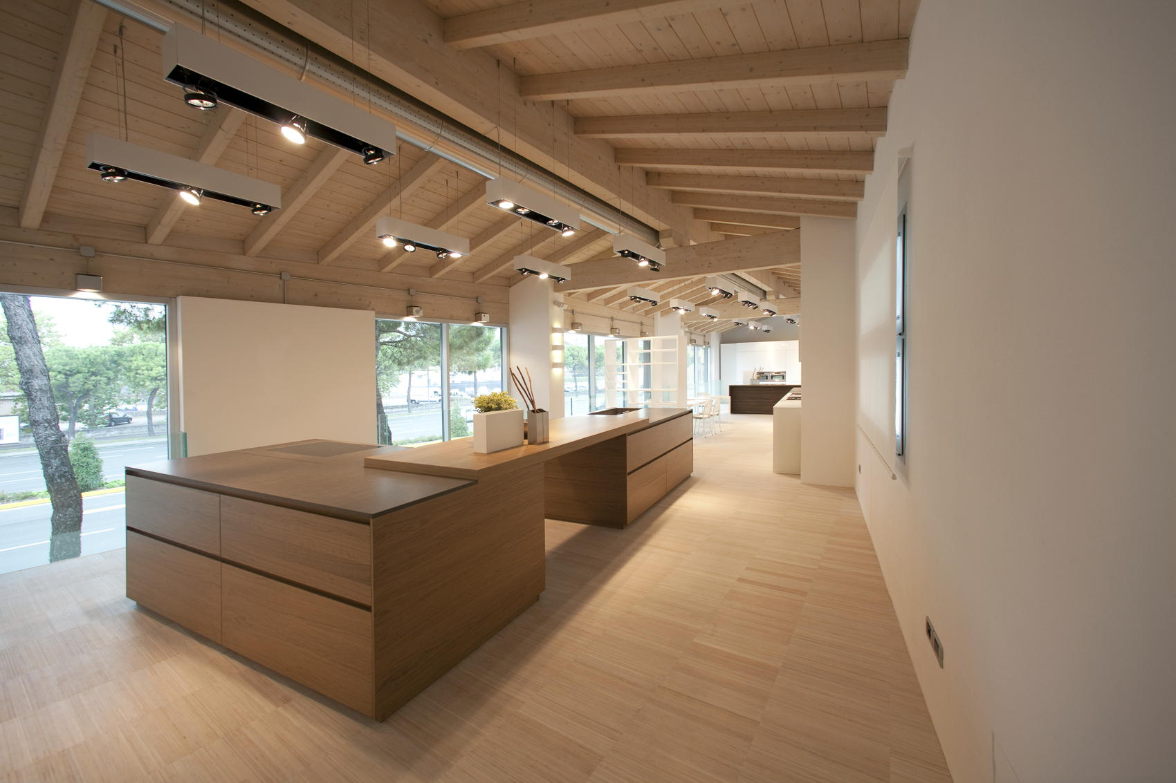 Showroom kitchen - Verona